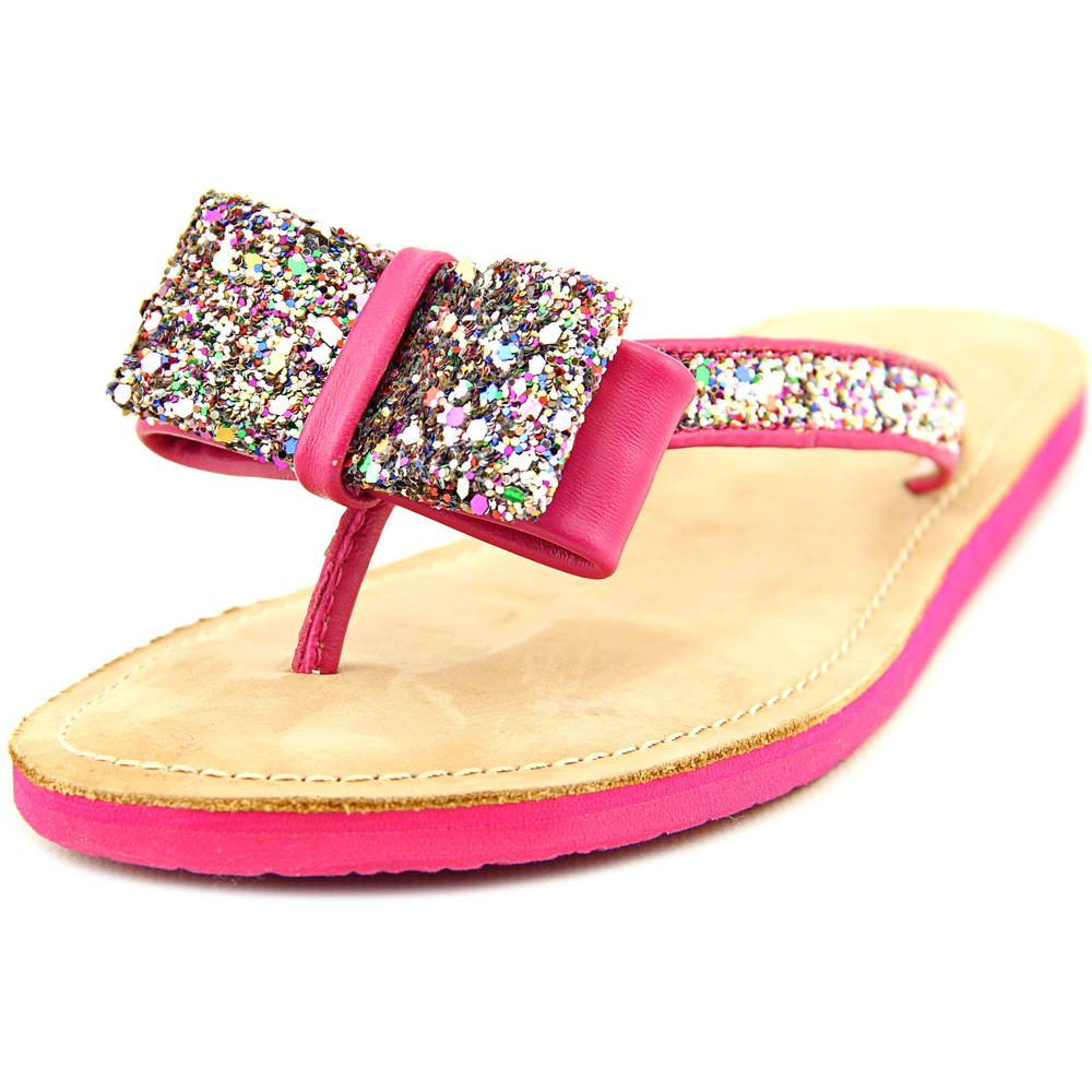 Kate Spade Icarda Open Toe Leather Thong Sandal by kate spade