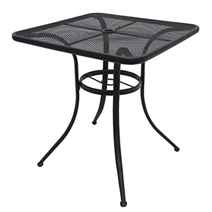 Steel Mesh Bistro Table
