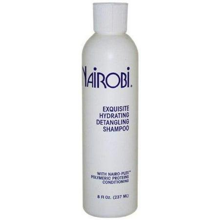 nairobi exquisite hydrating detangling shampoo for unisex, 8 ounce Hydrating Detangling Shampoo