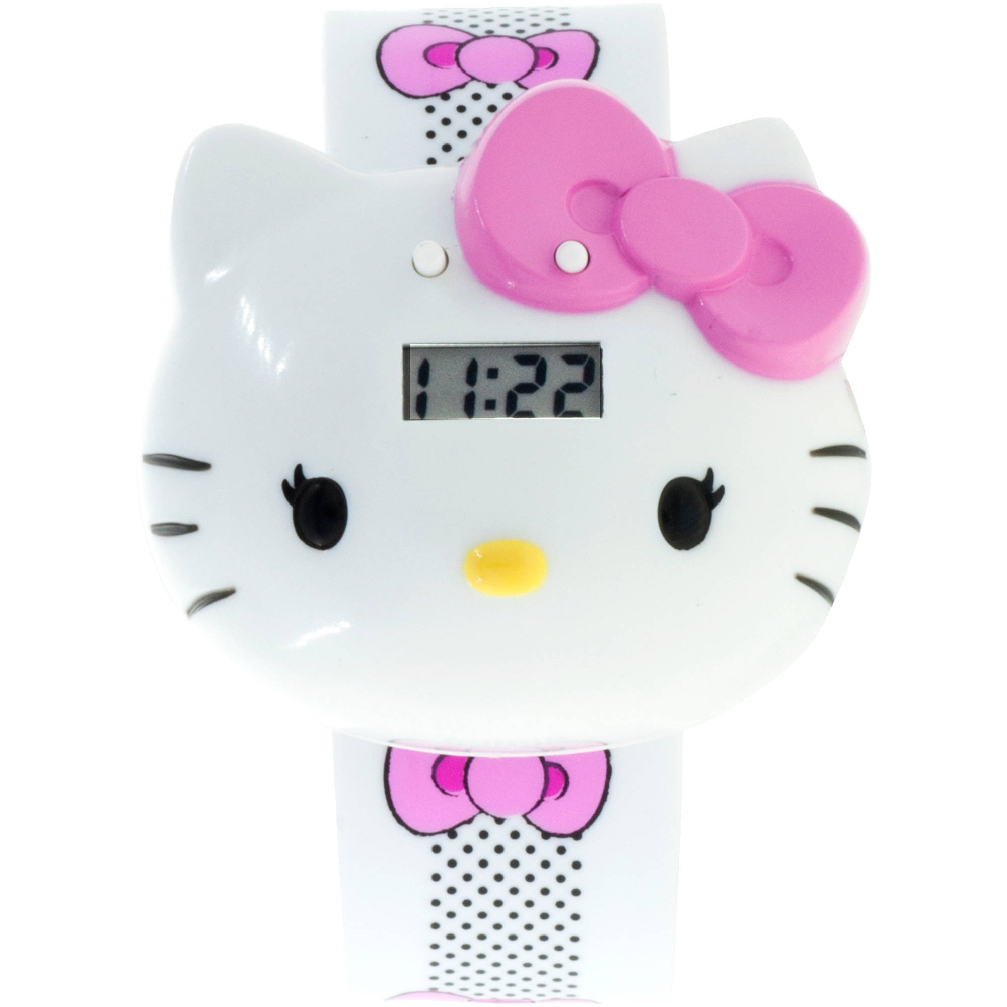 Hello Kitty Girls Molded Sound LCD Watch