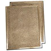 Honeywell 203371/U Mesh Pre Filter, 16 in L x 25 in, 5/16 in Thick, Aluminum 2pk