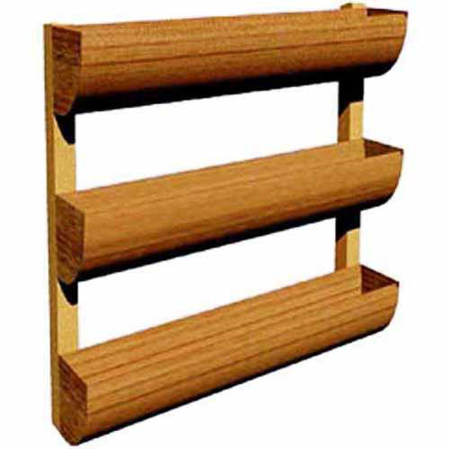 DC America City Garden Vertical Planter, Wall Planter, 3 Shelves