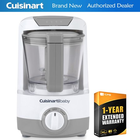 Cuisinart BFM-1000 Baby Food Maker and Bottle Warmer + 1 Year Extended