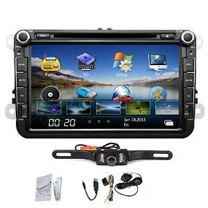 Ouku Rearview Camera Included €€8 Inch Car GPS Navigation...