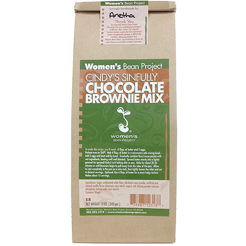 Women's Bean Project Cindy's Sinfully Chocolate Brownie Mix, 12 oz
