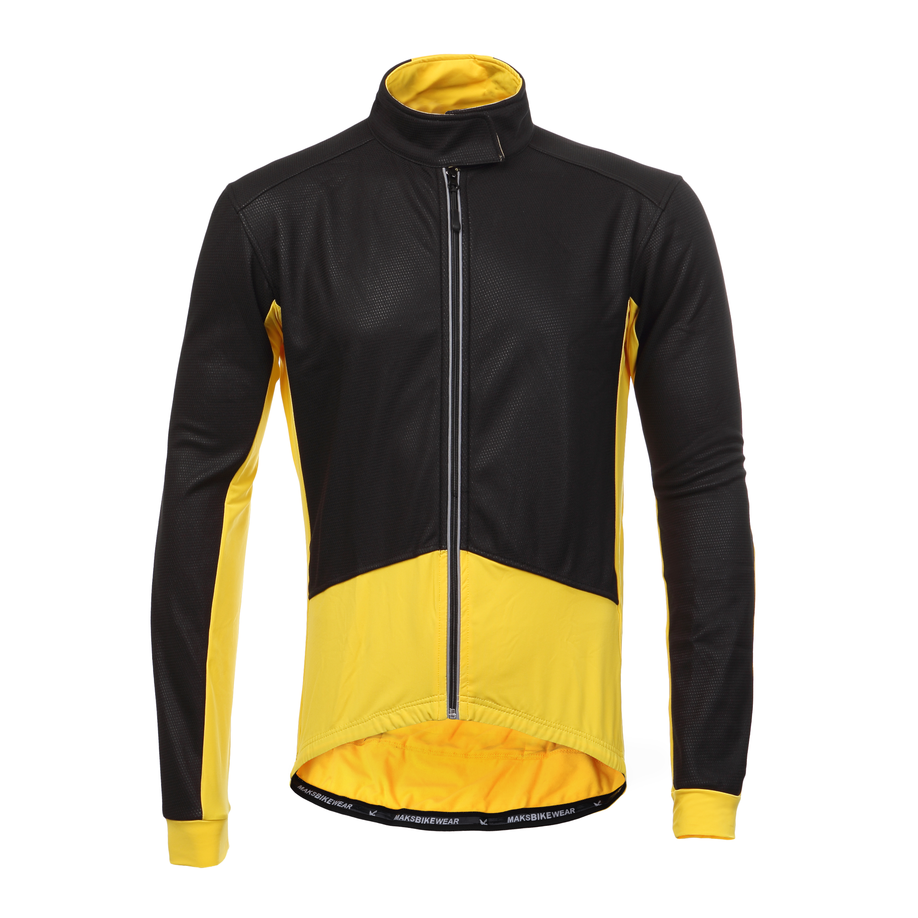 Long Sleeve Thermal Barrier Cycling Biking Windproof Firewall Winter Jacket