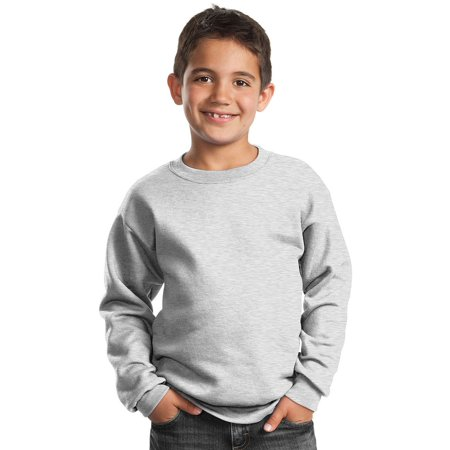 Setter Youth Sweatshirt - Port & Company Youth Perfect Crewneck Waistband Sweatshirt