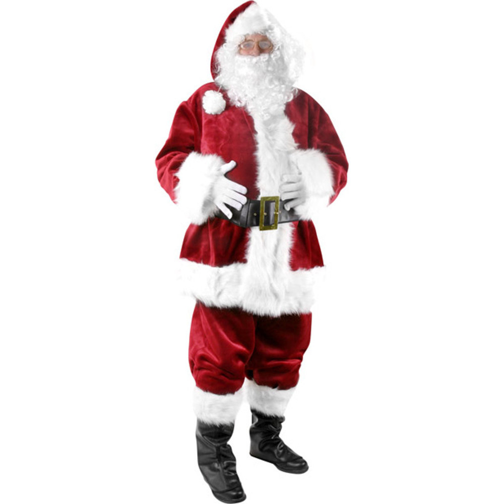 Adult Santa Claus Costume~Standard Size / Red