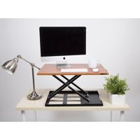 X-Elite Pro Standing Desk Converter - Cherry
