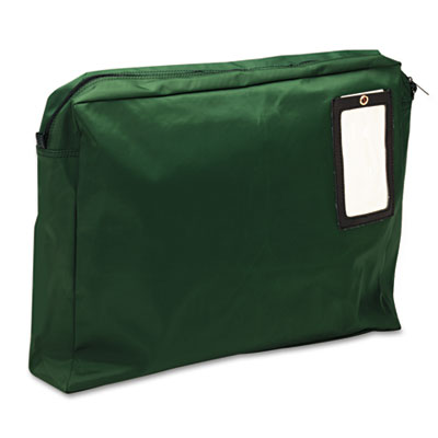 Expandable Dark Green Transit Sack, 18w x 14h x 4d, Sold as 1 Each