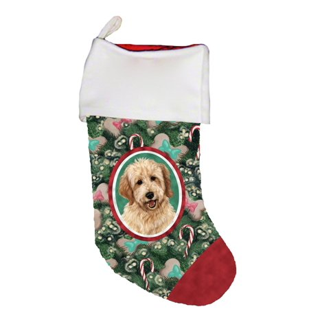 Goldendoodle Blonde - Best of Breed Dog Breed Christmas (The Best Christmas Stockings)