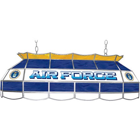 "NCAA U.S. Air Force 40"" Stained Glass Billiard Table Light Fixture"