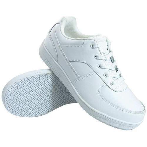 GENUINE GRIP 2015-7.5W Work Shoes, White, Mens, 7.5, W, PR