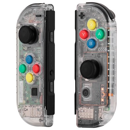Replacement Housing Shell Case for Nintendo Switch NS Controller Joy-Con game console switch shell (Only Joy con shell Clear)