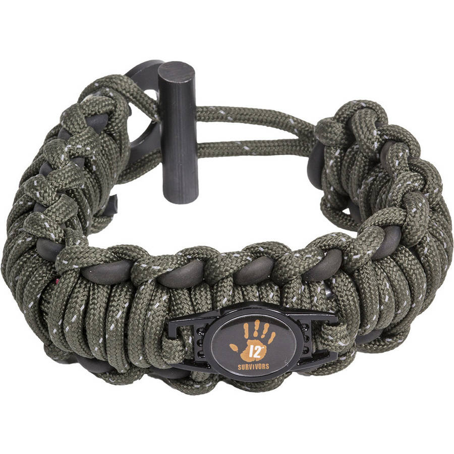 12 Survivors Paracord Band