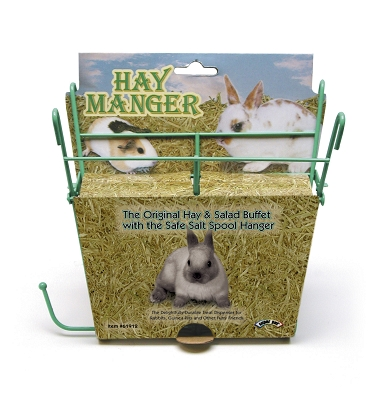 CENTRAL - SUPER PET/PETs INTL HAY MANGER W/SALT HANGER --