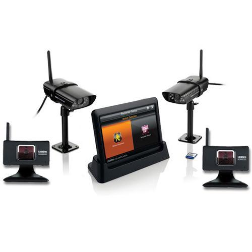 uniden guardian g455 (4 cameras) weatherproof wireless