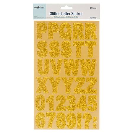 New 379566  Angels Craft Alphabet Stickers Gls-002 (12-Pack) School Supplies Cheap Wholesale Discount Bulk Stationery School Supplies Lighters - Cheap Stickers