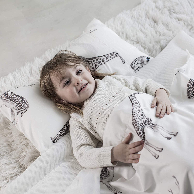Retro Animal Dono/&Dono Reversible Air Mesh Nap Mat for Kids