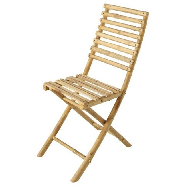 ZEW CH-182-Bamboo Collapsible Chairs-SET 2