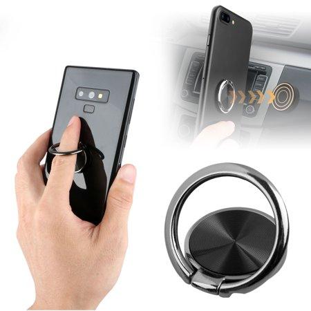 TSV Magnetic Mount Pop Bracket Metal Phone Smart Ring Holder Grip Socket Stand Dock