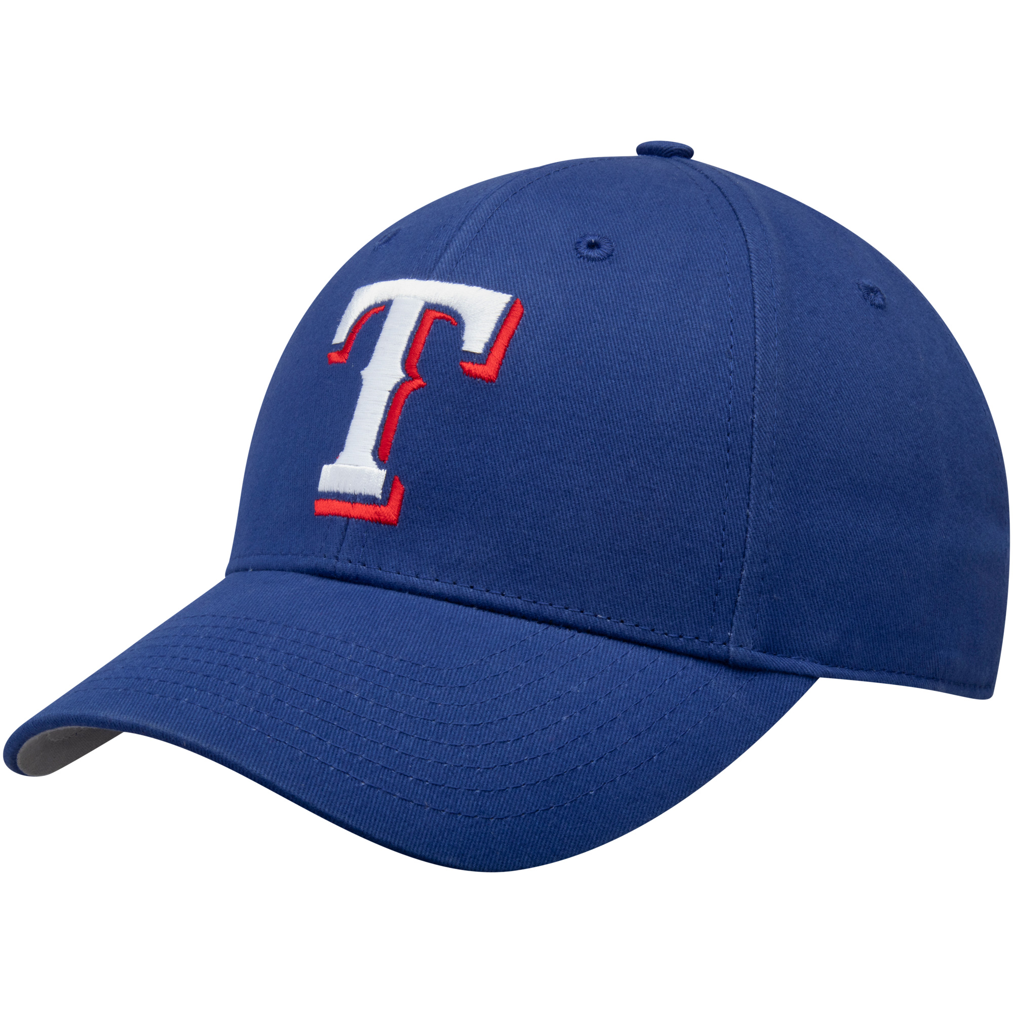 Fan Favorite Texas Rangers '47 Youth Team Logo Basic Adjustable Hat - Royal - OSFA