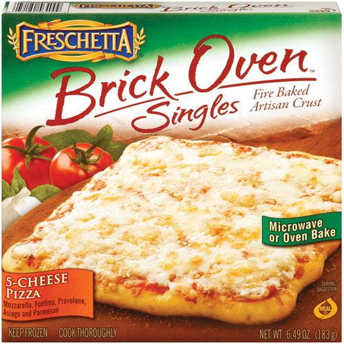 Freschetta Brick Oven Singles 5-Cheese Pizza, 6.49 oz
