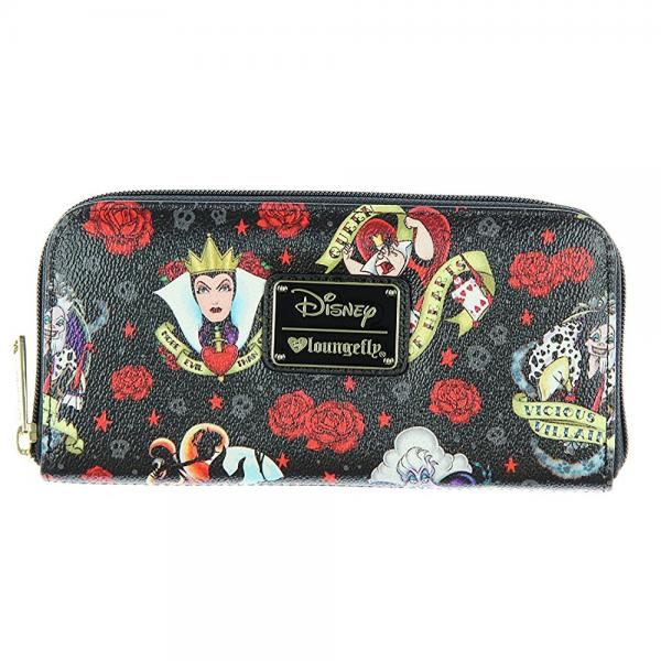Loungefly Disney Female Villains & Roses Evil Queen Malef...
