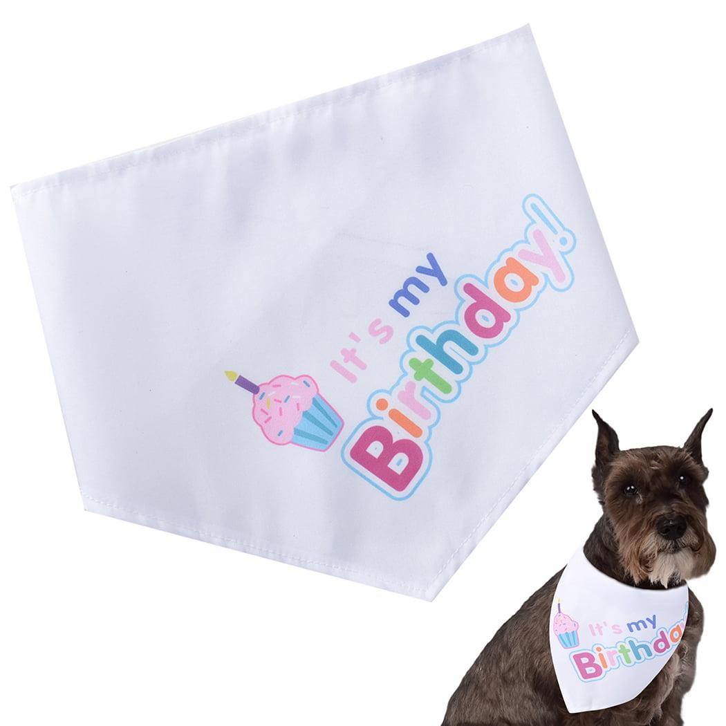 Pet Bib Pet Fashionable Dog Puppy Scarf Collar Bib Bandage Neckerchief Reflective Pet Dog Puppy Scarf Collar Bib Neckerchief for Dogs and Cats M-Fluorescent Yellow