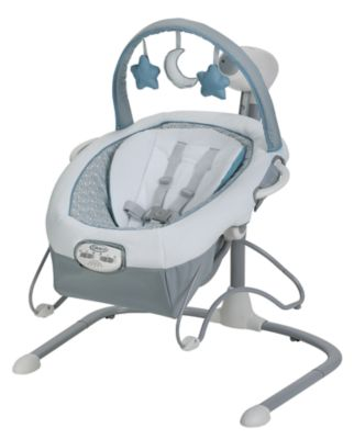 Graco Duet Sway LX Swing with Portable Bouncer, Merrick by Graco