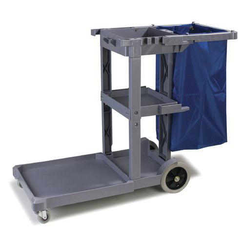Carlisle Food Service Products 22'' Platform Janitor Utility Cart