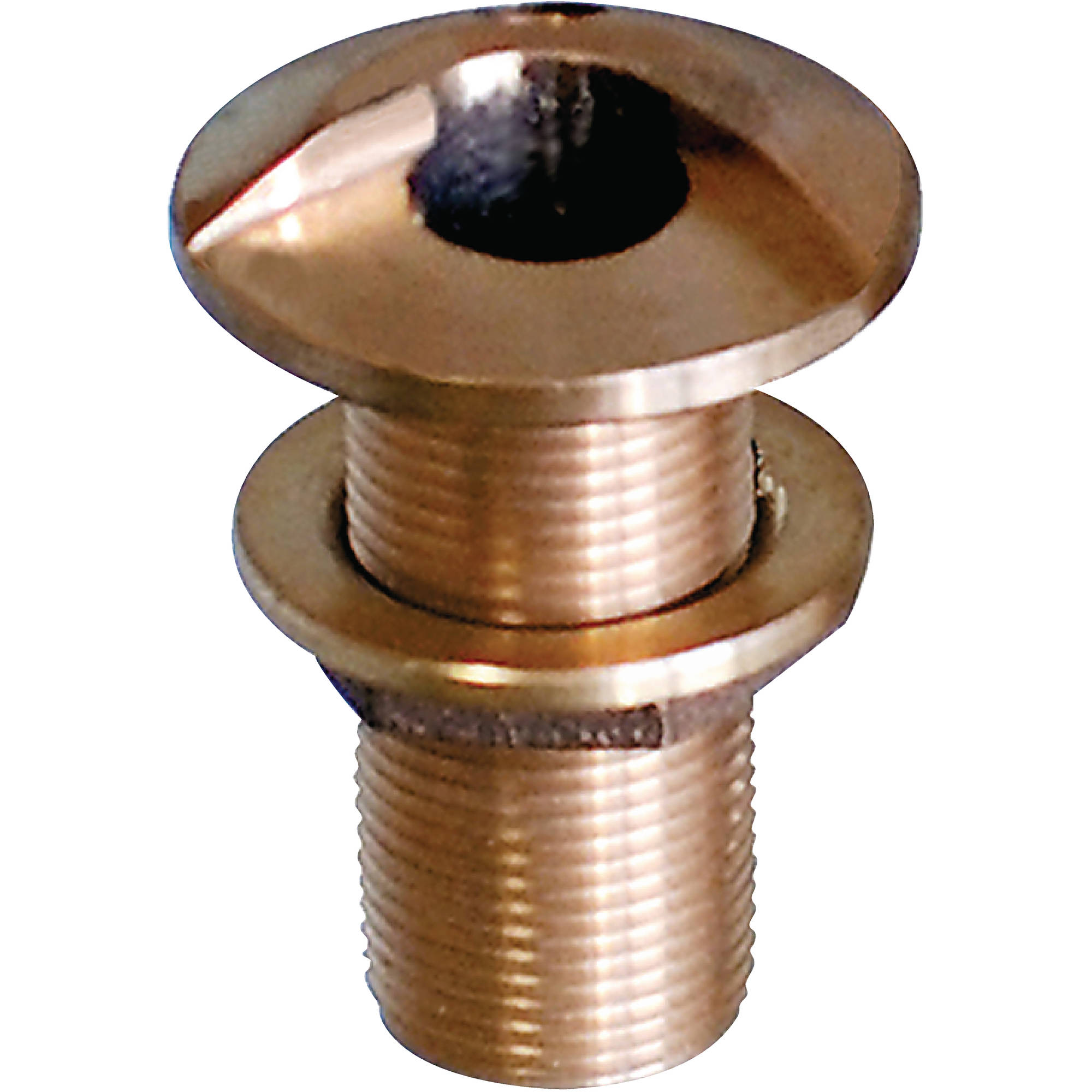 Groco HSTH Bronze High Speed Standard Length Through-Hull with Nut, 3/4""