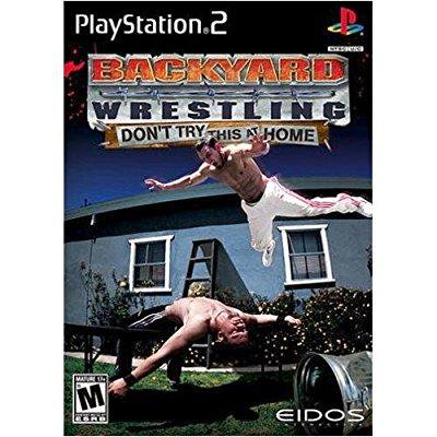 Backyard Wrestling: Don't Try This At Home ( PS2 ...