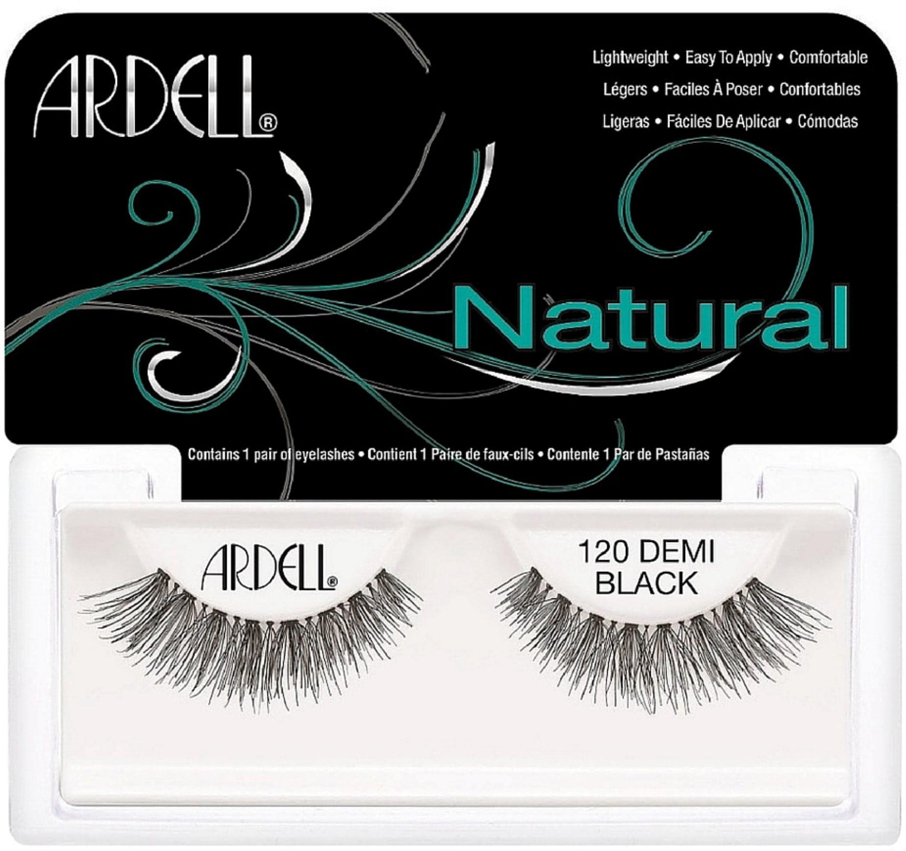 Ardell Fashion Lashes Natural Strip Lash, Demi Black [120] 1 ea (Pack of 3)