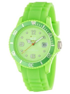 Unisex Sili Collection Plastic and Silicone Watch