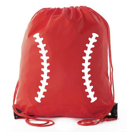 Mato Hash Boys Drawstring Backpack Baseball Bags 1 10 Pack Bulk Options