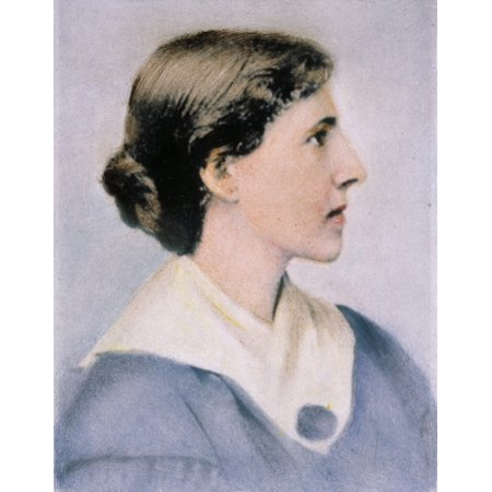 Feminist Photo - Charlotte Perkins Gilman N(1860-1935) American Feminist Writer And Reformer Oil Over A Photograph Rolled Canvas Art -  (24 x 36)