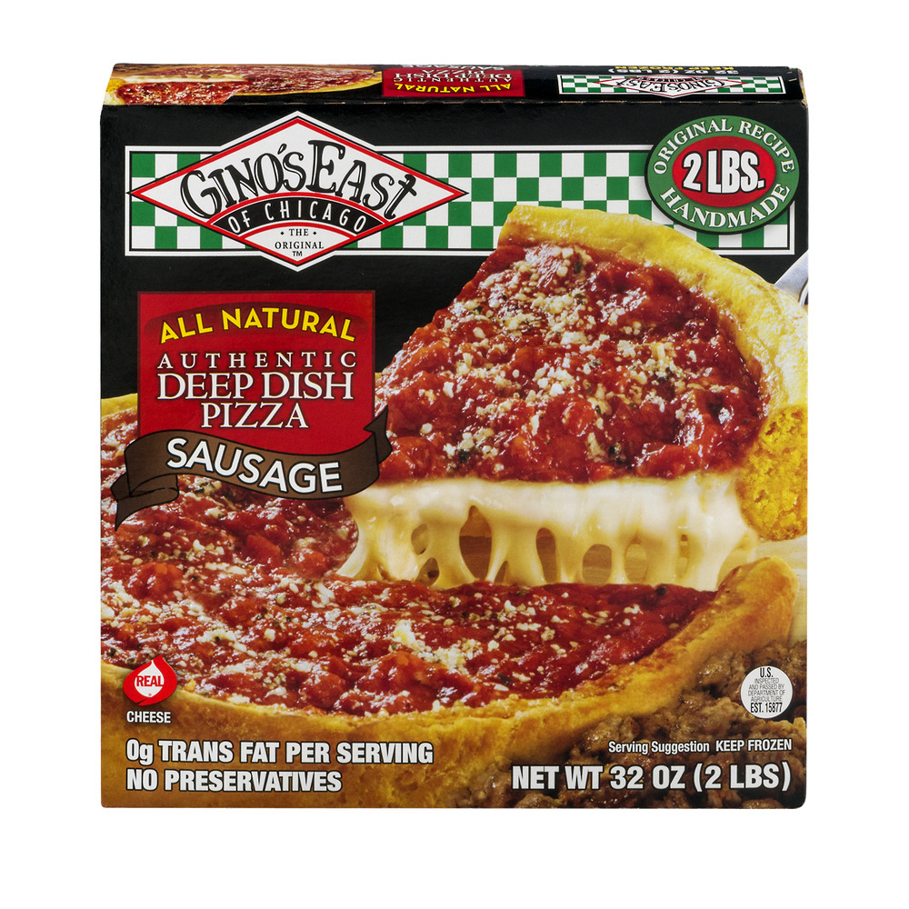 Gino's East of Chicago Authentic Deep Dish Pizza Sausage, 32.0 OZ