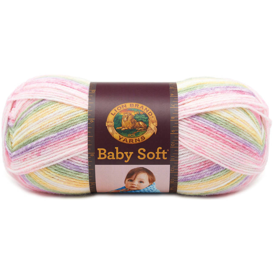 Lion Brand Babysoft Yarn, Available in Multiple Colors