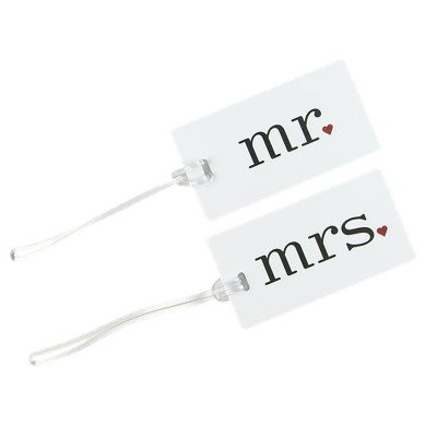 Mr. & Mrs. Luggage Tags Mr. & Mrs. Luggage Tags