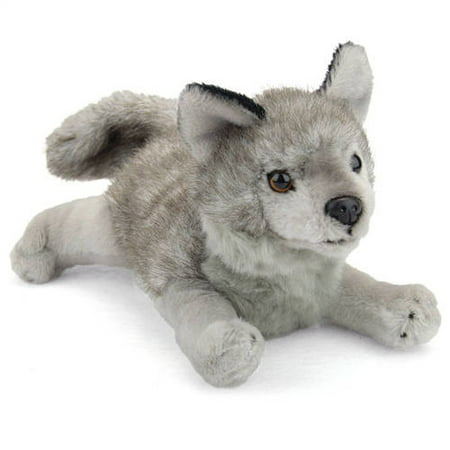 Wildlife Artists Stuffed Gray Wolf Conservation Critter - Life Size Stuffed Dummy