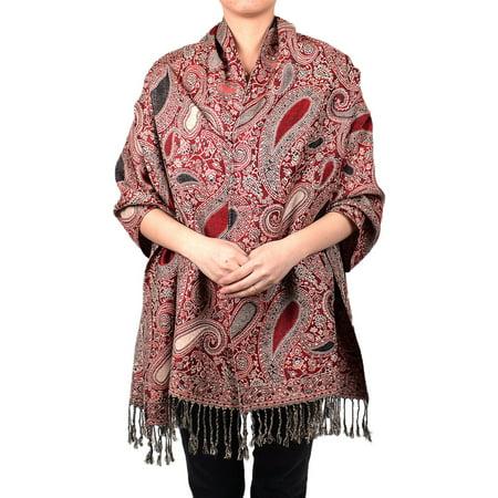 Paisley Floral Pashmina Multi Color Scarf Shawl Wrap
