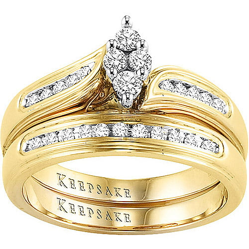 Keepsake Romantic Embrace 14 Carat TW Certified Diamond 10kt
