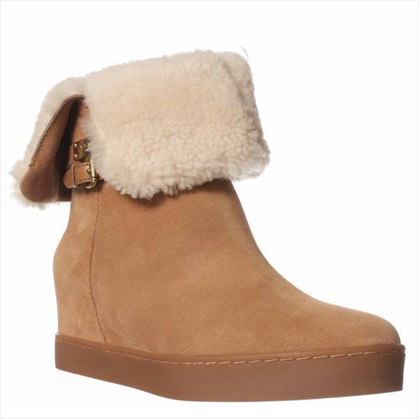 Womens Coach Norell Winter Boots - Camel Natural