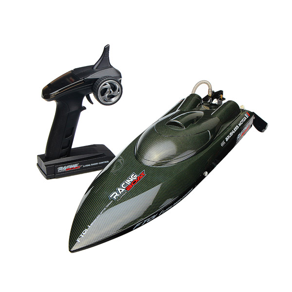 FT011 65CM 2.4G Brushless RC Boat High Speed Racing Boat Ship With Water Cooling System Kids Children Birthday... by mtqsun