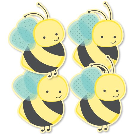 Honey Bee - Decorations DIY Baby Shower or Birthday Party Essentials - Set of 20 (Beer Party Decorations)