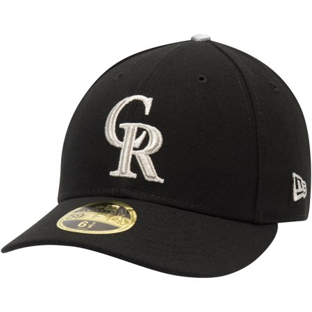 pretty nice 6681e 1f7ee Colorado Rockies New Era Alternate 3 Authentic Collection On-Field Low  Profile 59FIFTY Fitted Hat - Black - Walmart.com