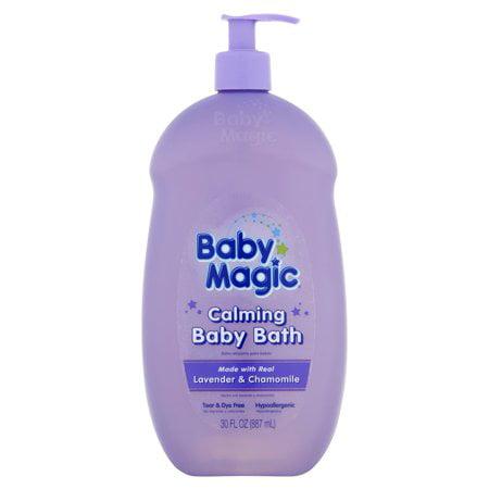 (2 Pack) Baby Magic Lavender & Chamomile Calming Baby Bath, 30 fl (Baby Magic Lotion)