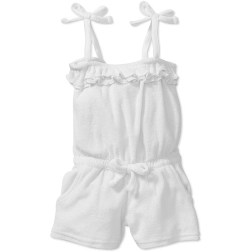 Baby Girls' Terry Romper Swimsuit Coverup