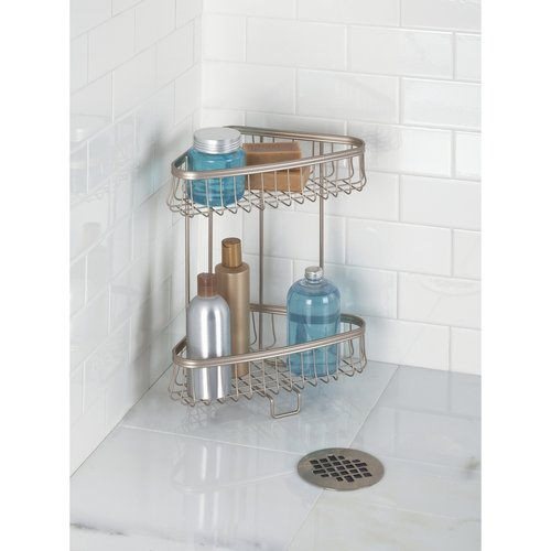 Product features - Free standing corner bathroom shelves ...